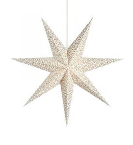 BAROQUE Pendant Star 45cm White