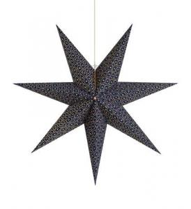 BAROQUE Pendant Star 75cm Blue