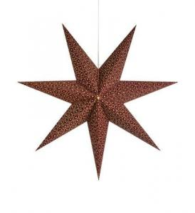 BAROQUE Pendant Star 75cm Bordeaux