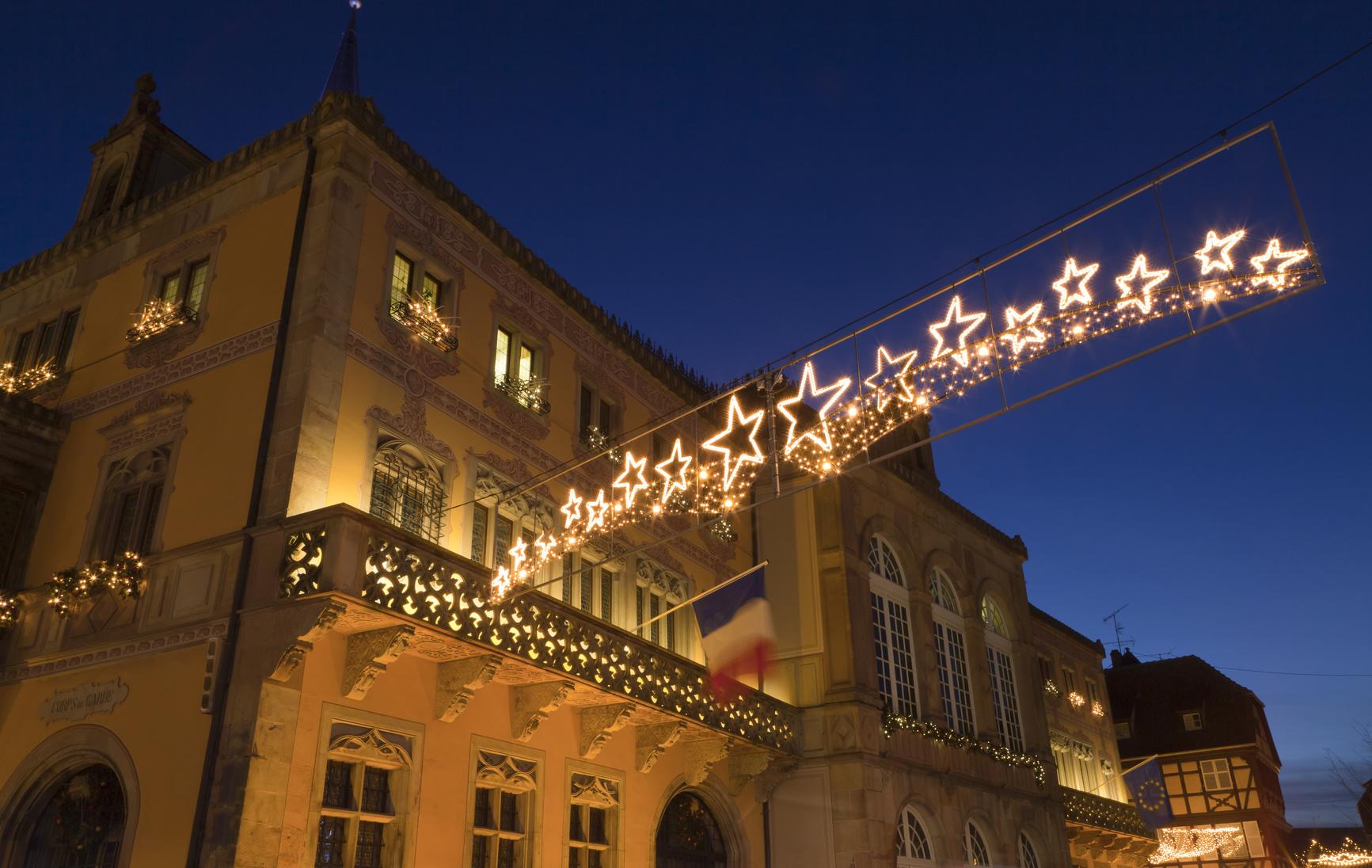 Oświetlenie Elewacji świąteczne Liniowo Elewacyjne Newled