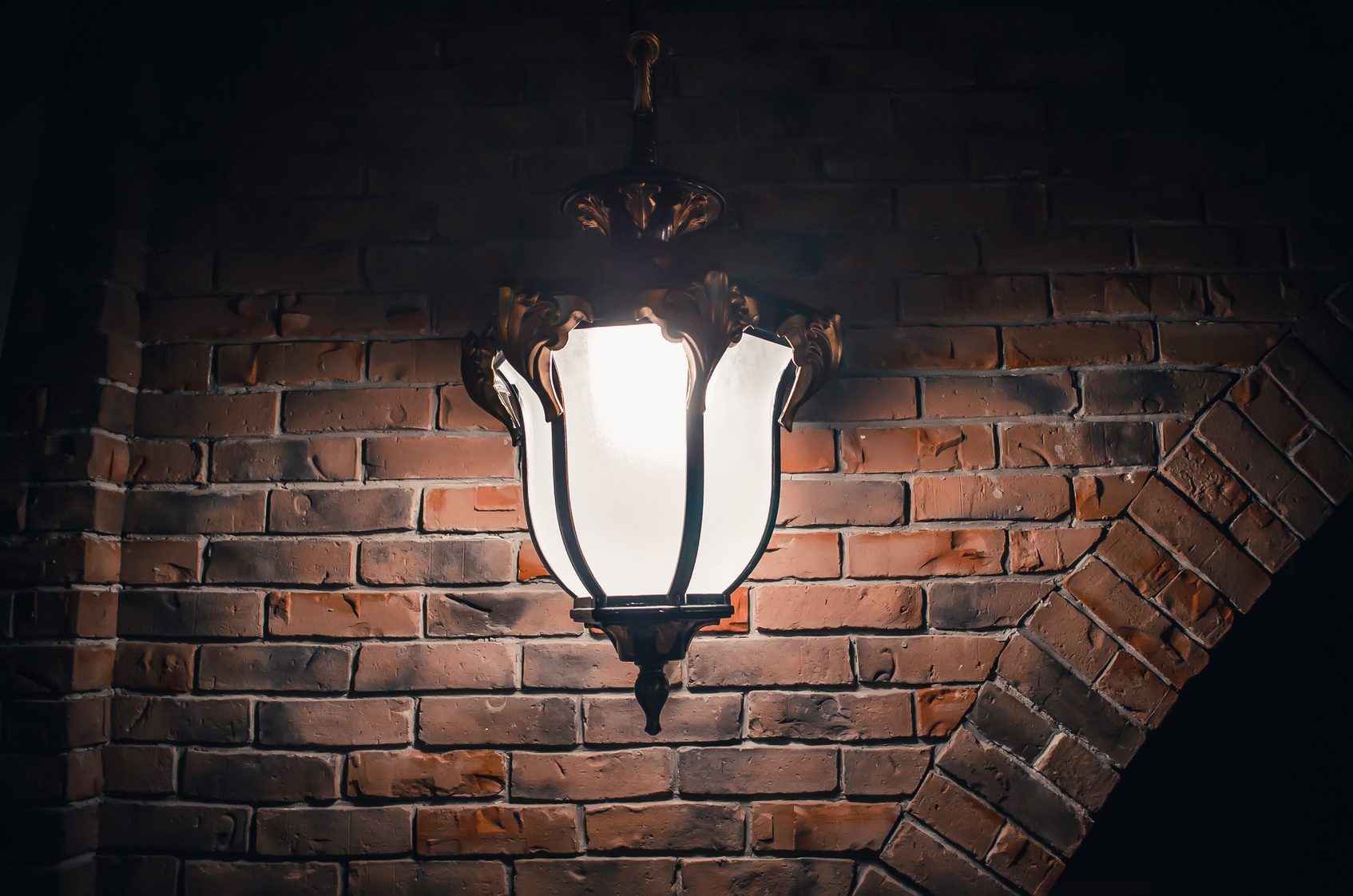 stylowe lampy ścienne zewnętrzne